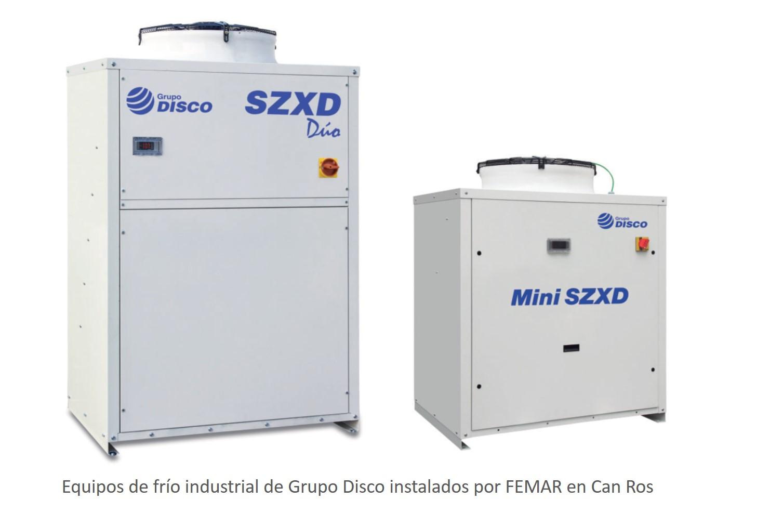 Frío Industrial Grupo Disco FEMAR